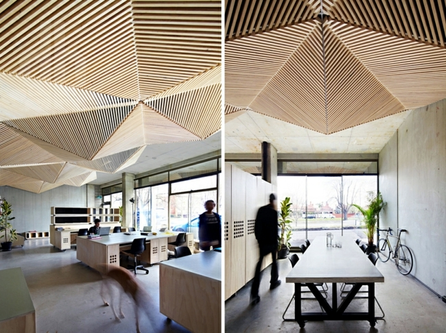 Design Idea Inspired By The Origami Art Suspended