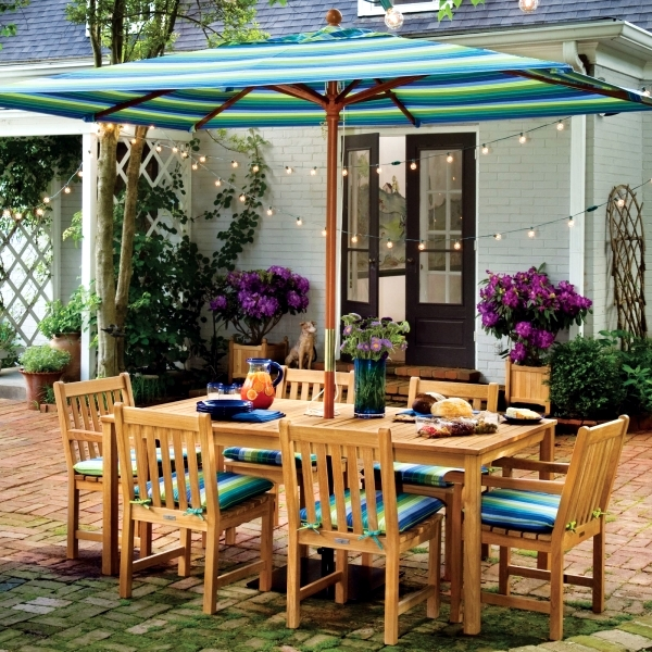 Design ideas and essential items for the outdoor dining area