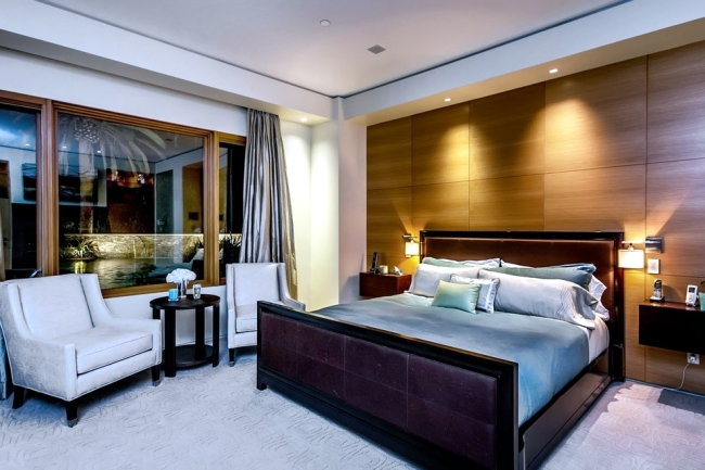 Design ideas for bedrooms - work fine and hold tone on tone