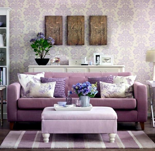 Cool Design For A Living Room: Cool Decorating Ideas With Sofa