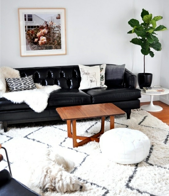 Design living room – cool decorating ideas with sofa cushions ...