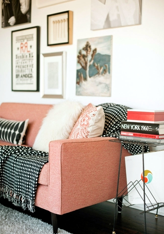 Design living room - cool decorating ideas with sofa cushions