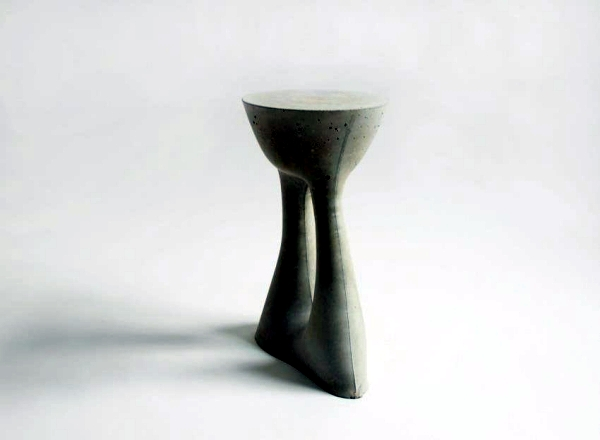 """Design side table """"ridges"""" creative solution for indoor and outdoor spaces"""