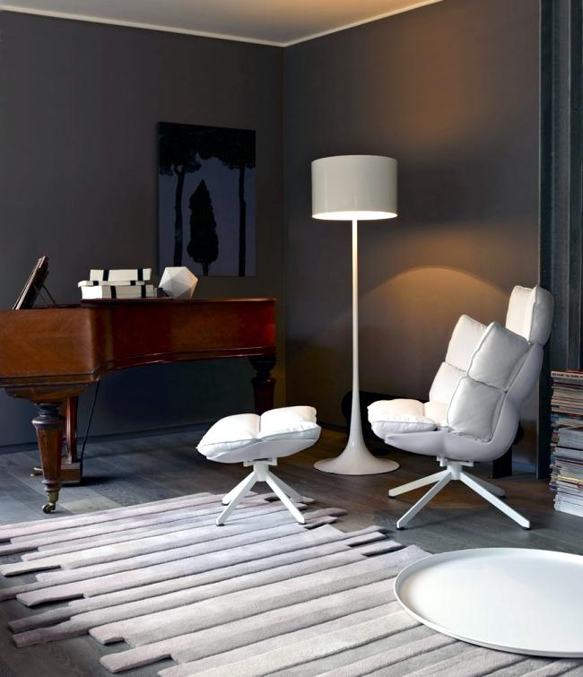 Designer armchair HUSK in three versions – indoor, outdoor ...