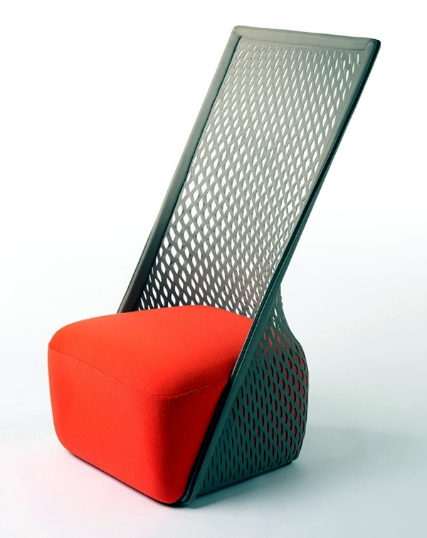 the chair design by benjamin hubert is called   cradle   and was  memorated with a hammock function  the material with   structure which serves as case     designer chair by benjamin hubert serves as a hammock   interior      rh   ofdesign