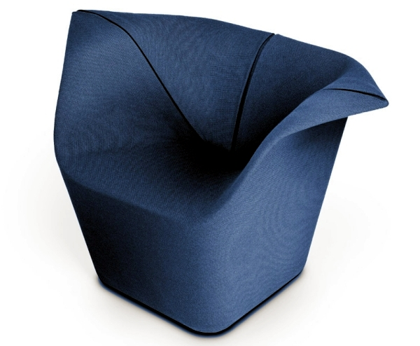 Designer Chair by Benjamin Hubert serves as a hammock