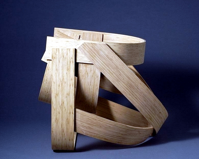 Designer chair made of bamboo - sustainability and innovation of MOSO