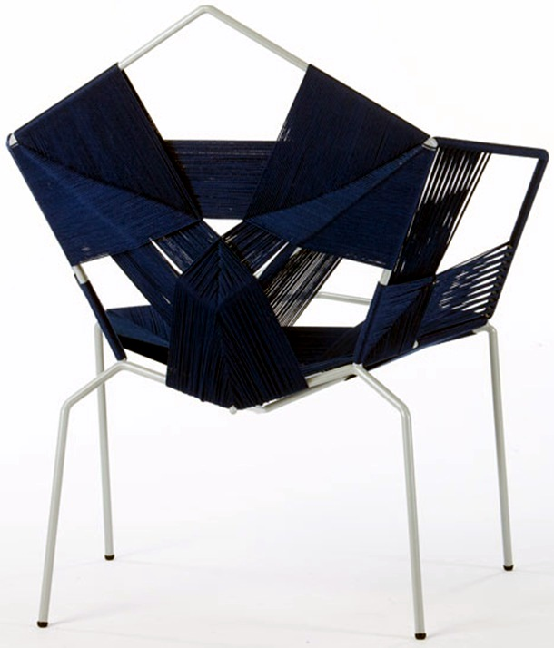 Designer chairs COD - Traditional weaving techniques and modern design