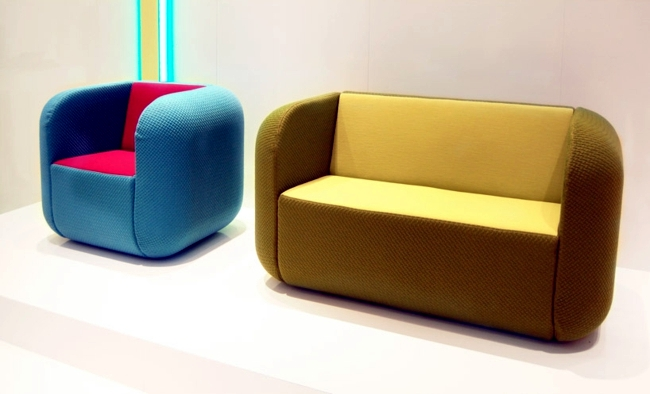 Designer Furniture In Bold Colors Inspired By Mobile