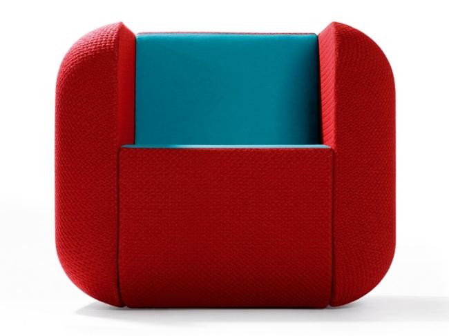 Modern Furniture Design In Bright Colors. Design