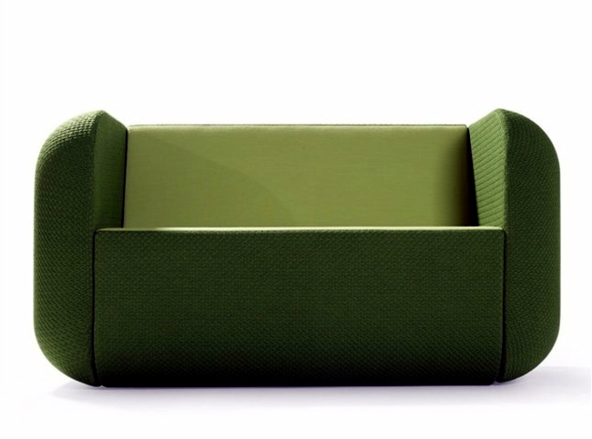 Designer furniture in bold colors - inspired by mobile apps