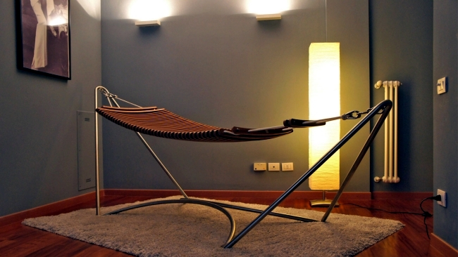 designer hammock with metal frame   that holiday feeling at home designer hammock with metal frame  u2013 that holiday feeling at home      rh   ofdesign