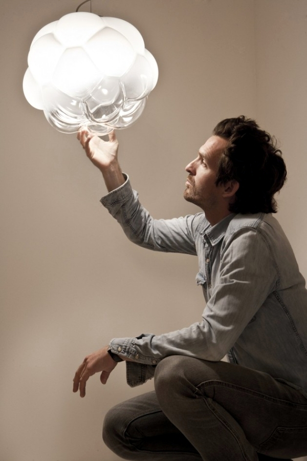 Designer Lamp Clear by Mathieu Lehanneur for Fabbian