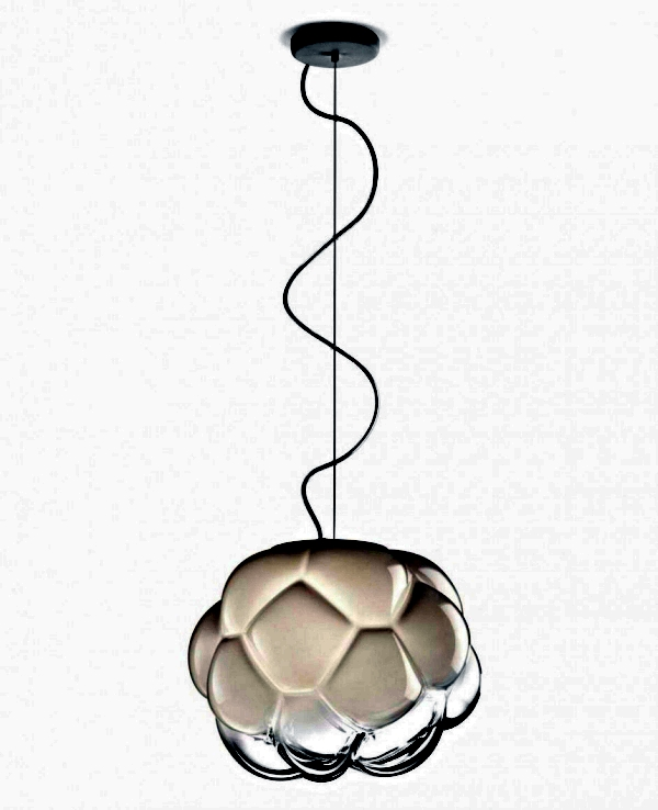 Designer Lamp Clear by Mathieu Lehanneur for Fabbian