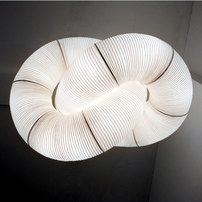 Designer paper lamps by Anthony Dickens - Flexible and versatile