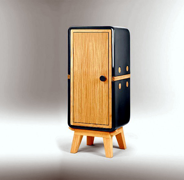 """Designer wooden cabinets and ceramic - the """"keramos"""" Collection"""