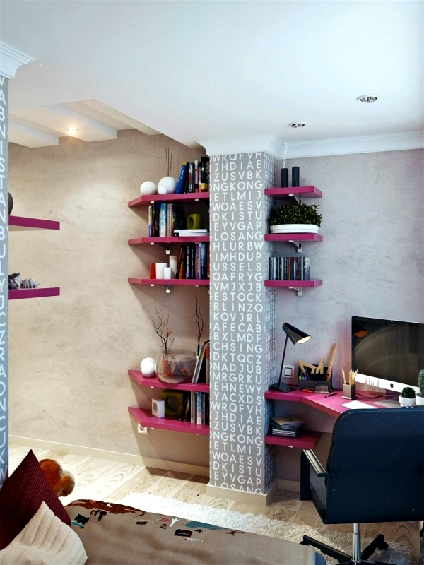 Attractive The Decoration And The Optimal Use Of Space In Your Home Can Be A  Challenge. It Is A Way To Have Both, Hang A Corner House Shelf.