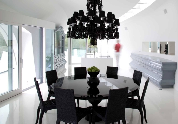 Dining Room Design Ideas Provide Exciting Black And White