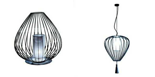 East Meets West - Chinese inspired pendant lights Design