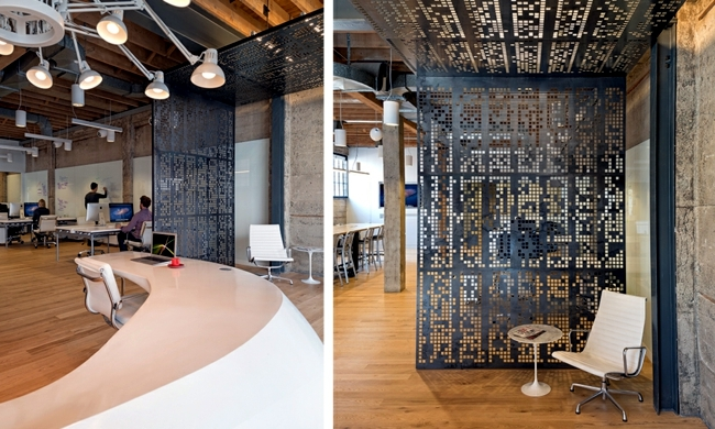 The Company Giant Software Pixels In San Francisco Ordered The Design  Studio O Plus The Task Of Designing A Modern Office Furniture For Their  Office In ...