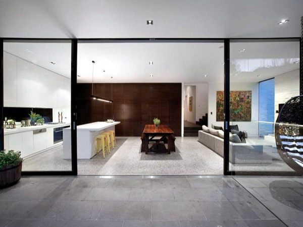 Edwardian villa in melbourne interior design ideas ofdesign - Deco lounge open keuken ...
