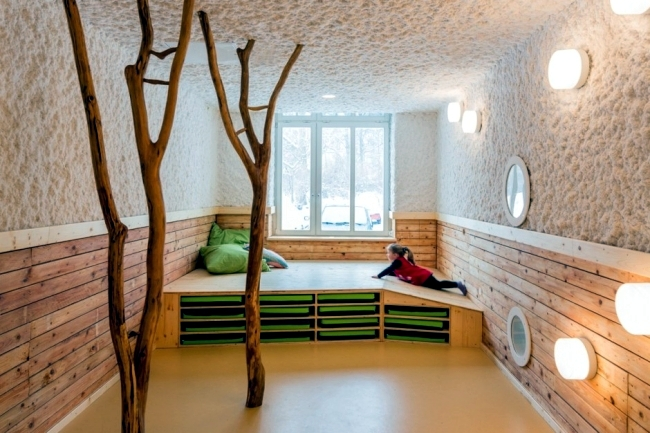 the nursery works in addition to the concept of education for kindergarten which optimizes the daily work with children kita furniture is built with a child friendly furniture