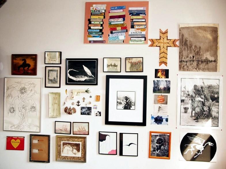 Erin Wasson's loft in Greenwich Village