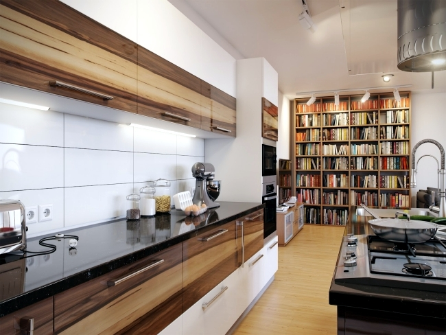 Establish and equip a large modern kitchen for multiple cooks