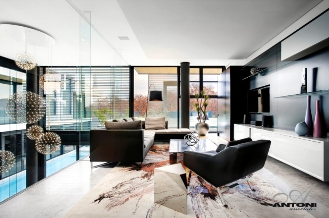 Even a modern dream house with pool of SAOTA and Antoni Associates