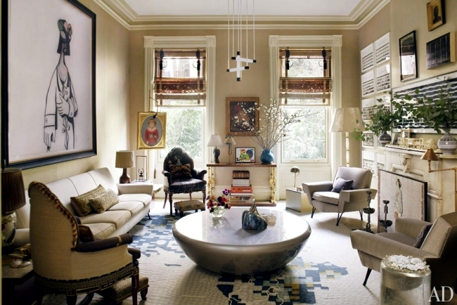 Examples of interior design 20 modern design living room for Manhattan ny interior designer