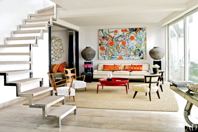 Examples of interior design - 20 modern design living room