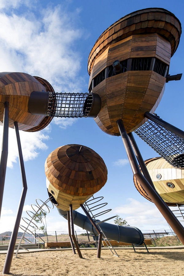 Exceptional Children Playground Of The National Arboretum In Australia Interior Design Ideas Ofdesign