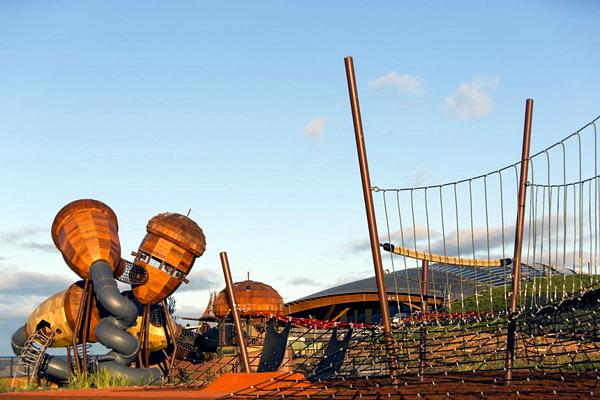 Exceptional Children playground of the National Arboretum in Australia