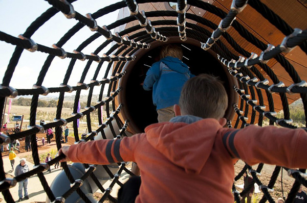 Exceptional Children playground of the National Arboretum in Australia