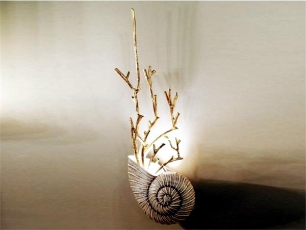 Exclusive handmade designer lamps in wrought iron