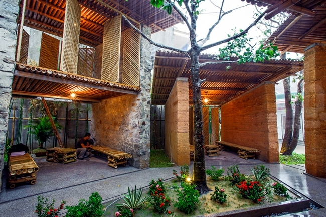 Exotic Bamboo Pavilion Promotes The Learning And Cultural