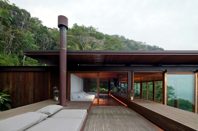 Exotic Villa with pool promotes natural lifestyle