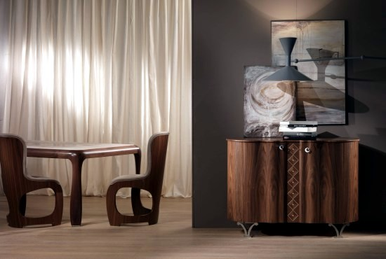 Extraordinary designer home furnishings, wooden Carpanelli ...