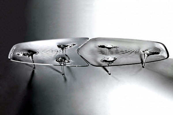Extraordinary Table Design From Zaha Hadid Furniture In