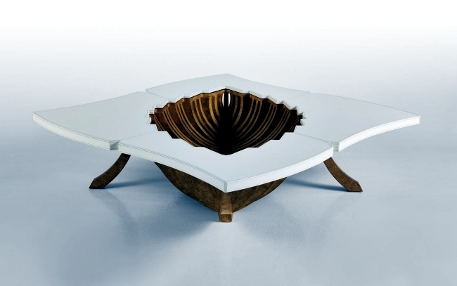 Extravagant design furniture in artistic appearance of Sicis