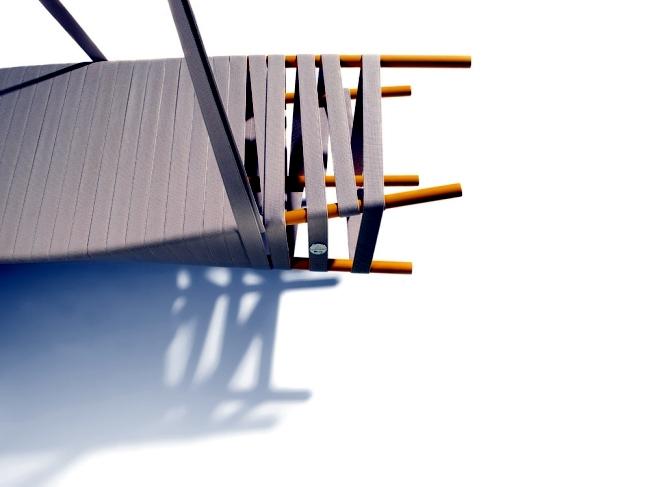 Fancy designer swing hanging by Lionel Dean