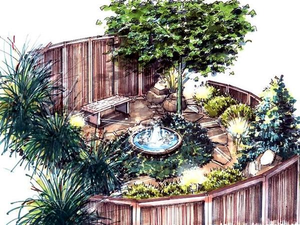 Fast garden planning in three easy steps