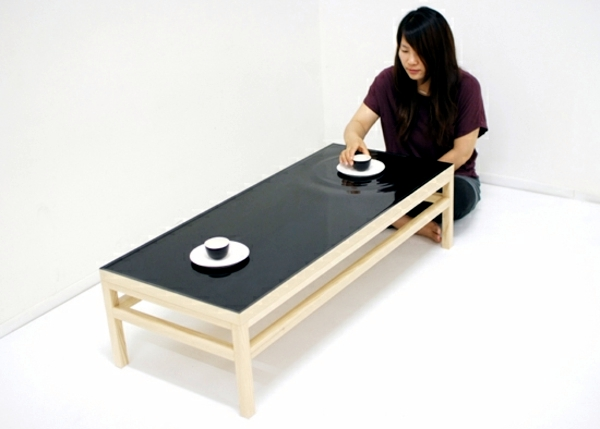 Feng Shui design - two tables inspired by nature