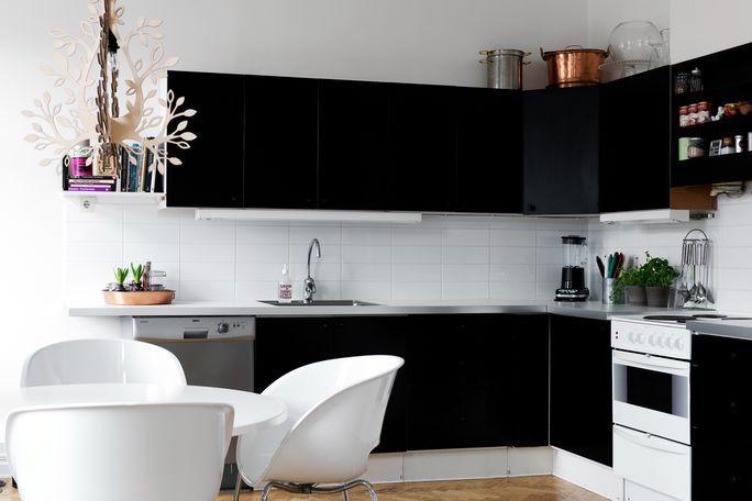 Flat black Swedish