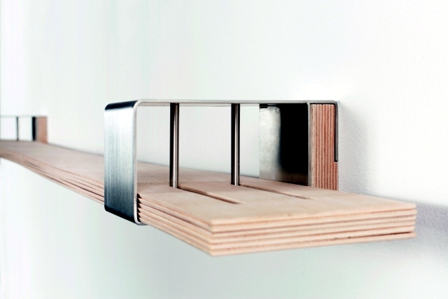 Flexible wall shelf design of Hafriko is designed in various shapes
