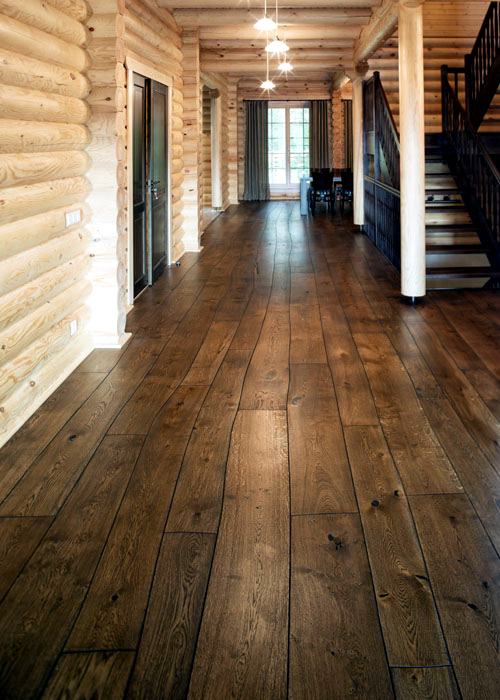 Floorboards of Bolefloor - Abnormally curved solid wood flooring