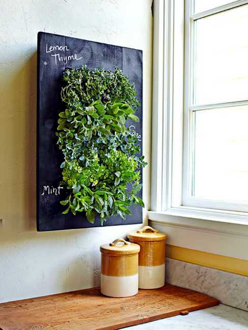 Use Vertical Space   To Make Your Own Flower Pots