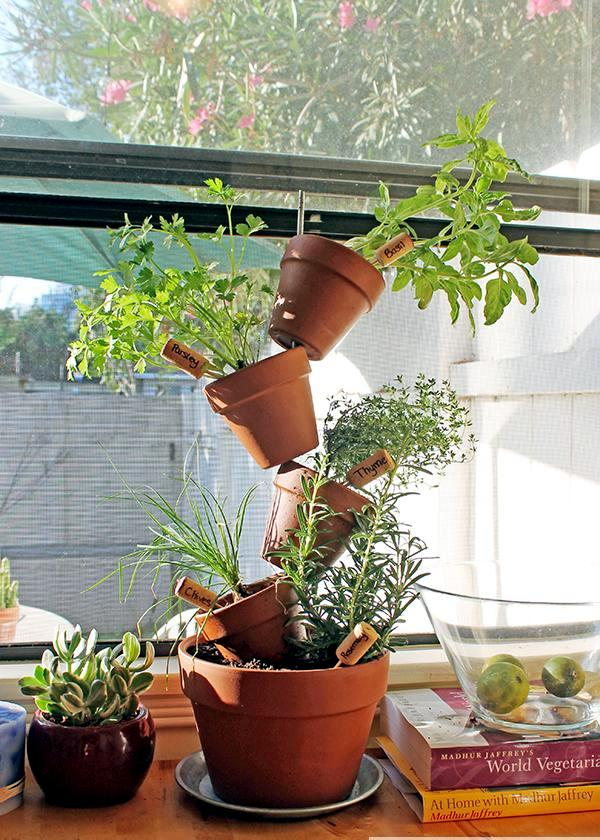 Flower pots to make your own - Unusual Ideas for flower containers