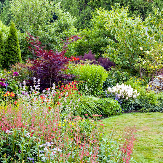 Flowers in the Garden - Garden ideas for sexy and attractive design