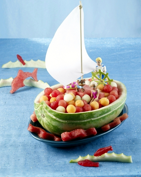 Food for kids birthday - 15 tasty recipes with summer fruits